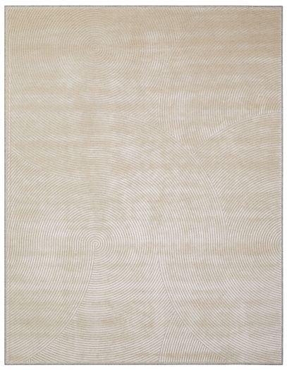 Beiger Teppich mit Linienmuster: Catania_Natural Beige